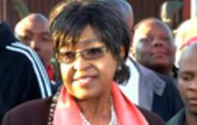 "Mandela showing ""great improvement,"" says ex-wife Winnie"