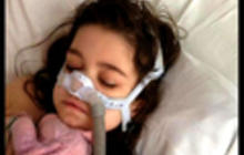 10-year-old gets an adult lung transplant