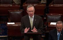 """Reid compares GOP take on budget battle to Orwell's """"1984"""""""