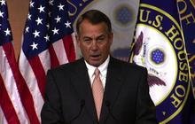 Boehner: Obama has to negotiate on debt ceiling