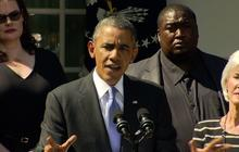 """Obama promotes healthcare law: """"This is life or death stuff"""""""