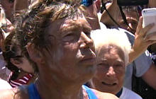 Diana Nyad completes historic swim from Cuba to Florida