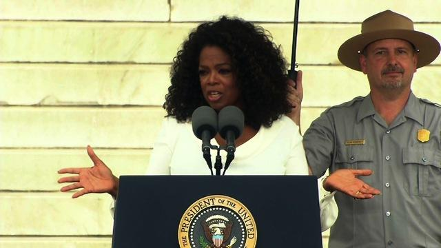 "Oprah: MLK challenged Americans to ""wake up"""