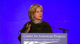 "Hillary Clinton blasts ""scorched earth"" political tactics"