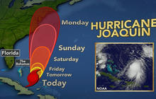 Hurricane Joaquin churns towards U.S. East coast