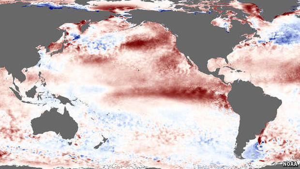 Godzilla El Niño headed for California