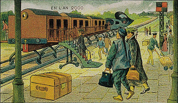 Envisioning life in 2000 from a 1900 perspective