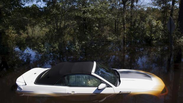 """Thousand year"" flooding in South Carolina"
