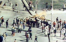 Egyptians Riot in the Streets in 1977