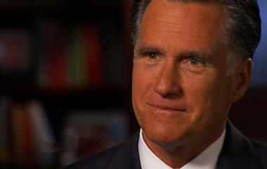 """Romney: """"We're taking enough money in taxes"""""""
