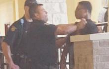 Texas cop grabs 14-year-old's throat, slams him