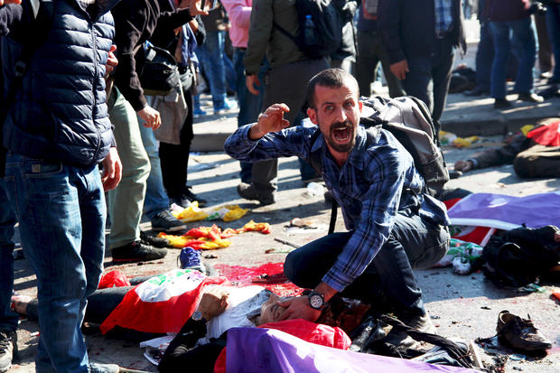 Deadly blasts in Turkey