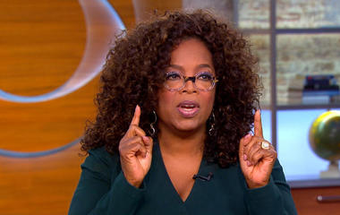 Oprah: Hollywood gender pay gap conversation has hit critical moment