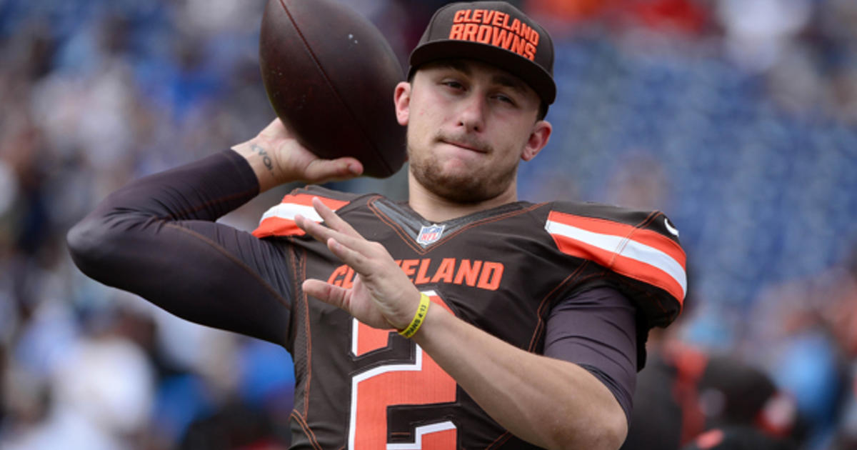 Johnny Manziel dashcam video could lead to NFL trouble - CBS News