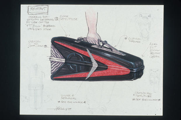 """""""Back to the Future"""" sketches"""