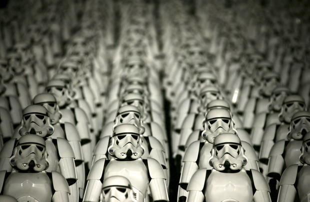 Stormtroopers invade China's Great Wall