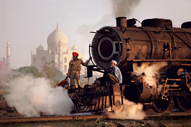 Image result for colorful trains in india