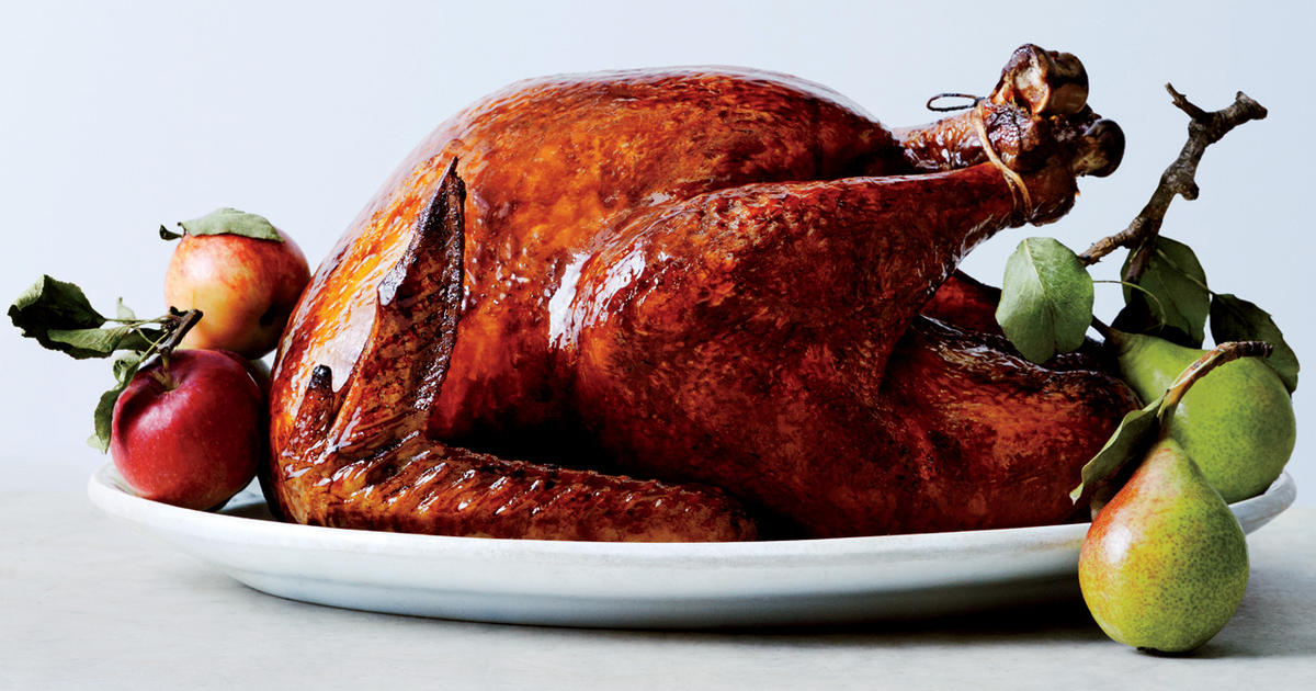 Recipe Glazed And Lacquered Roast Turkey Cbs News