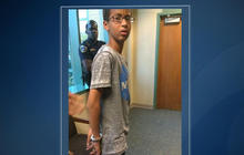 Muslim teen who brought clock to school sues over bomb miscues