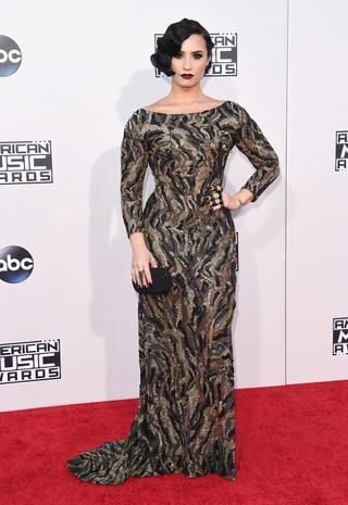 American Music Awards 2015 red carpet