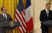 Hollande and Obama address ISIS threat