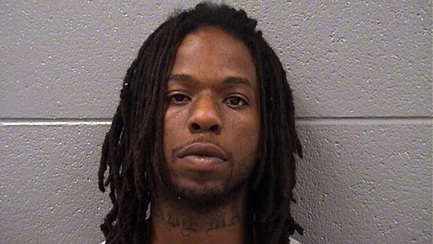Corey Morgan is seen in a booking photo.