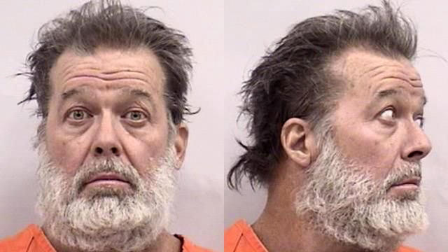 Robert Lewis Dear, 57, of North Carolina is seen in a booking photo released by the Colorado Springs Police Department.