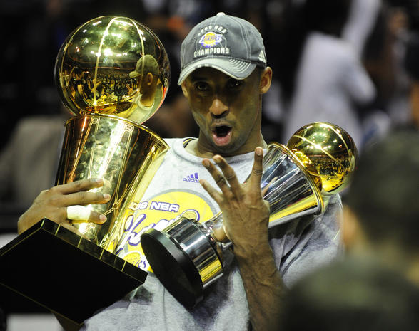 Five golden rings - 24 facts about amazing Kobe Bryant - Pictures - CBS News