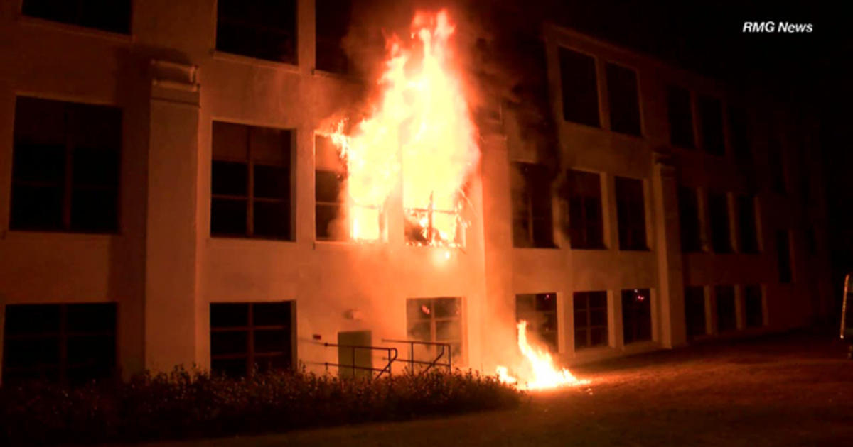arson investigation underway at monrovia  california high