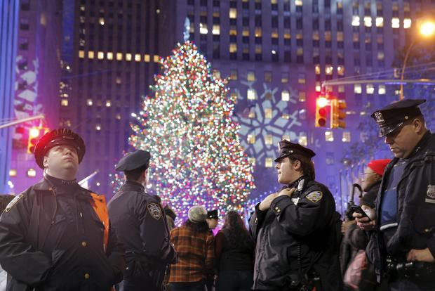 Rockefeller Christmas tree lighting