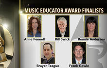 Finalists for 2016 Grammy Music Educator Award revealed