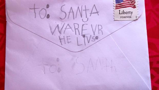 Indiana Town Named Santa Claus Flooded With Letters To Santa Cbs News