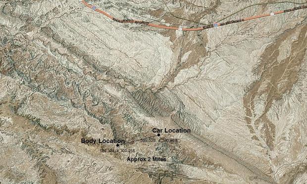 "The ""steep and rocky"" terrain where Michael Cavallari died"