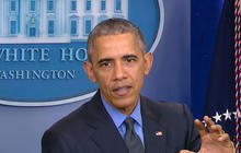 President Obama holds year-end conference