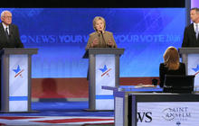 Democratic debate focuses on national security