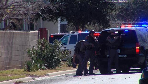 2 Police Officers Shot During 9-hour Standoff With Suspect