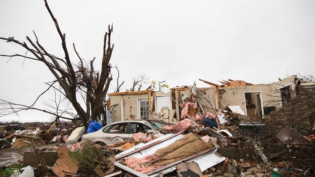 Dozens dead in 3-headed hit of weird weather - CBS News