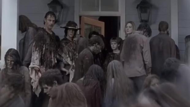 """""""The Walking Dead"""" premiere fan event"""