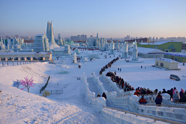 China's spectacular ice festival