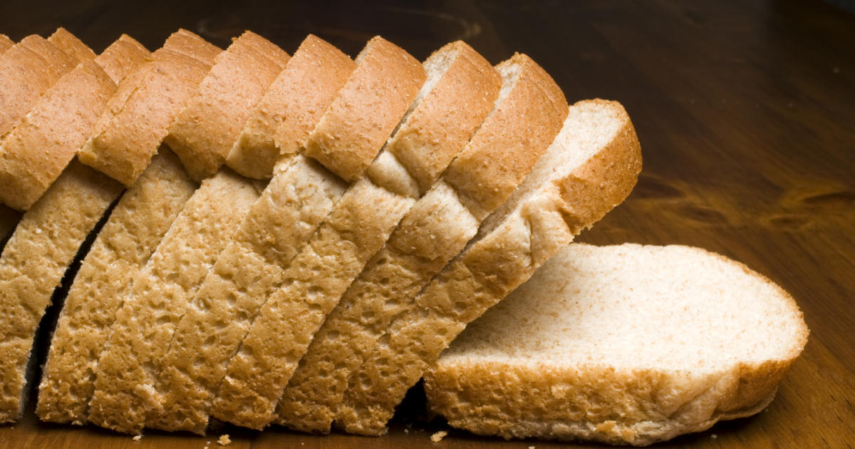 Could white bread be better for some people? - CBS News