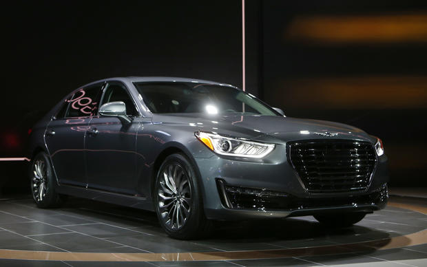 Hot wheels at the Detroit Auto Show