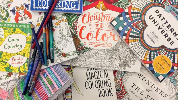 Adult Coloring Book Craze Gets Social Tweak