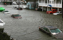 Flood waters force Jersey Shore residents from homes