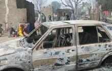 Boko Haram militants burned children, sources say