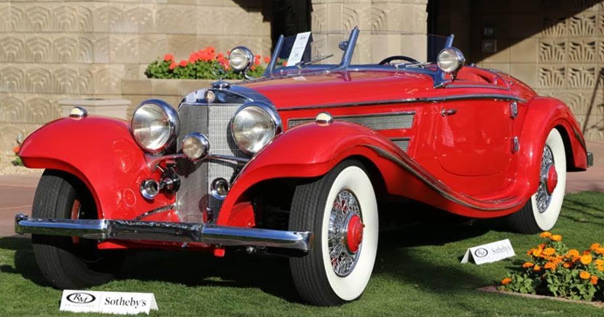 What makes a car worth $10 million? - CBS News