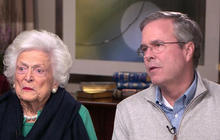 Barbara Bush makes case for why Jeb is fit to be president
