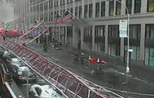 Crane collapses in New York City; At least 1 dead