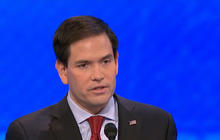 Watch: Marco Rubio repeats same attack line 4 times