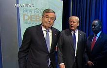 Awkward introductions at GOP New Hampshire debate
