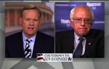 "Bernie Sanders on Hillary Clinton's Wall Street ties: ""It's a fact"""
